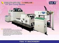 Auto UV Spot Coating Machine