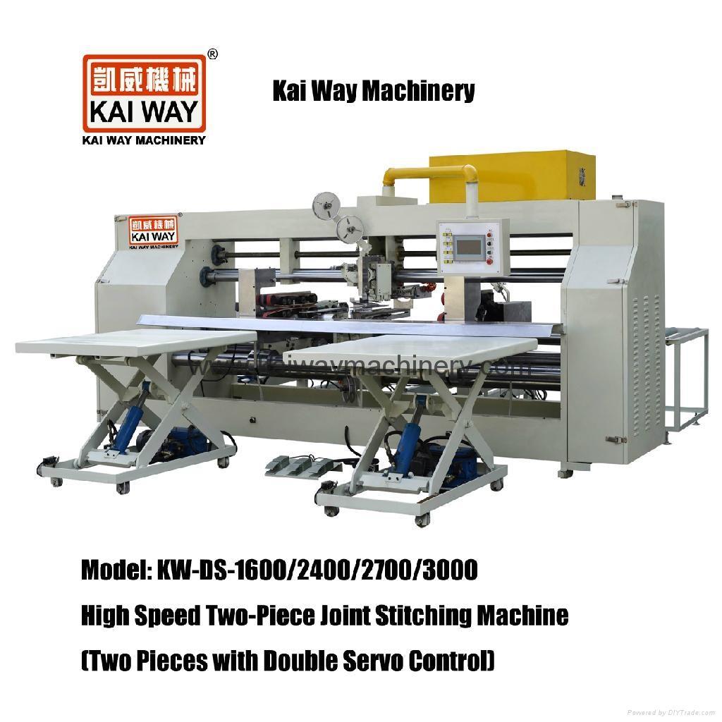 Two-Piece Joint Stitching Machine (Two Pieces with Double Servo Control) 1