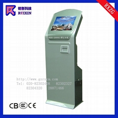 RXZG-200002 Ruixin 19 inch TOUCH MONITOR INFORMATION KIOSKS