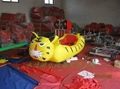 充气蹦床玩具车