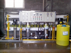 3噸雙級化工用純淨水設備