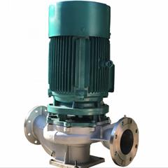 不鏽鋼立式管道泵15KW