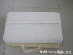 供應慢回彈海綿養生保健枕頭