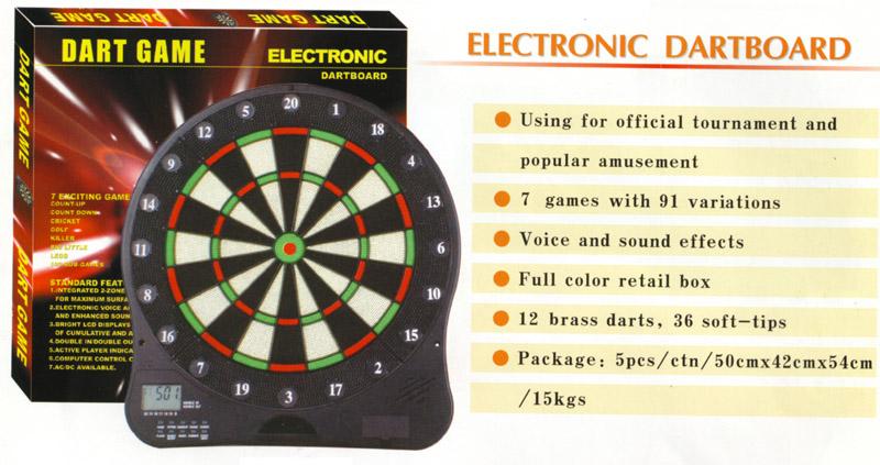 LCD Electronic dartboard 1