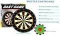 "18"" Bristle dartboard"