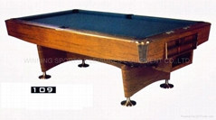 billiard & pool table