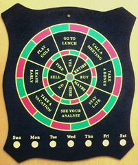 office play magnetic dartboard