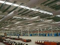 新型工業布袋風管
