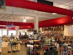 大型超市賣場專用布袋風管