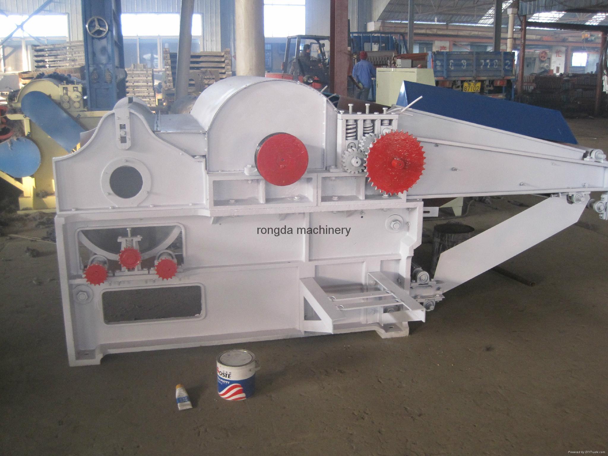 GM500 單輥棉紡織物開松機 2