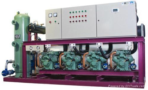 Refrigeration Equipment Compressor Rack System