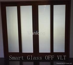 電控智能液晶調光玻璃