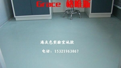 河北省县级实验室专用海灰色地胶