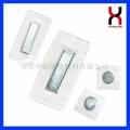 服装箱包磁铁扣 PVC/TPU包胶磁扣 4