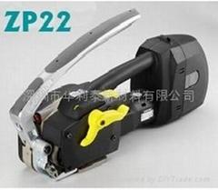 台湾打包机ZAPAK电动手提打包机台湾ZP22电动打包机
