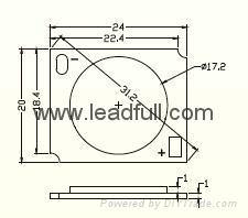 COB LED track lamp 1