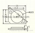 COB LED track lamp 3-15W 2
