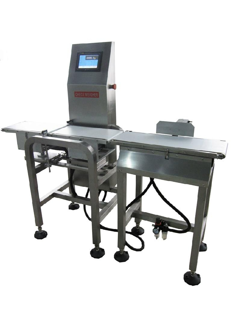 Automatic inline Check Weigher