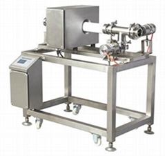 Pipeline metal detector for sauce,liquid products
