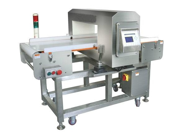 tunnel metal detection for food, chemical and pharmaceutical and packing lines