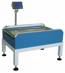 stainless steel inline automatic check weigher, packing machine, metal detector