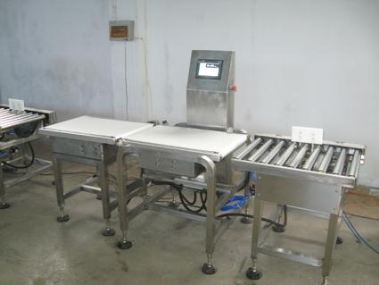 stainless steel low price check weigher, metal detector, packaging machine