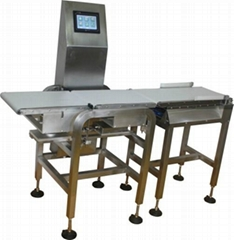 Inline Check Weigher with automatic rejection system