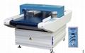 Conveyor belt metal detector for cloths,
