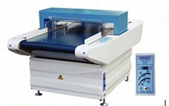 Conveyor belt metal detector for cloths, textile, garment