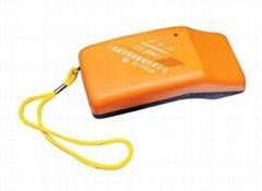 Portable needle detector