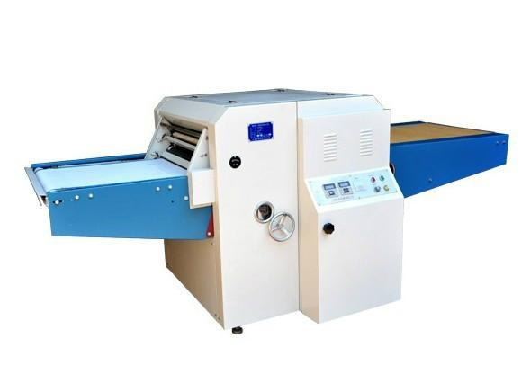 using Press Machine for textile