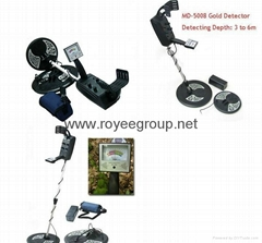 3-5meters underground metal detector with high sensitivity MD-5008