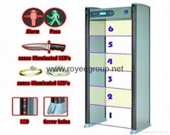 Manufactory walkthrough Metal Detector & walk through metal detector gate RY-B