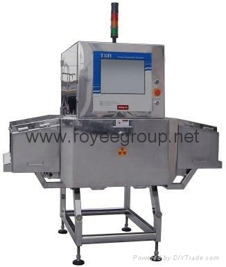 X-ray machine, metal detection machine