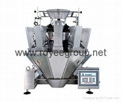 Packaging Machine with 10 head weigher