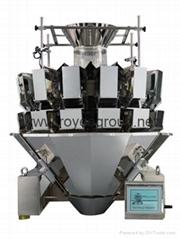 14 Head Multi head weighing and packing machine