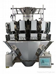 14 head weigher and packing machine