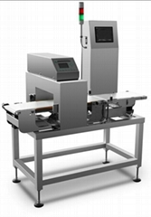 Combinated Metal Detector and Check Weigher for food