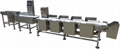 Multi-level Sorting Check Weigher for sea food
