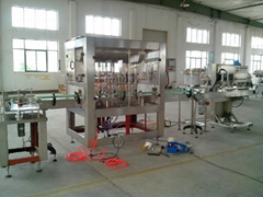 4 head tomato sauce filling and capping machine