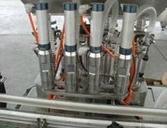 4 Heads filling machine