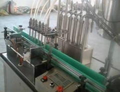 automatic filling, capping, labeling line