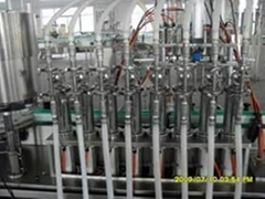8 head liquid filling machinery from China