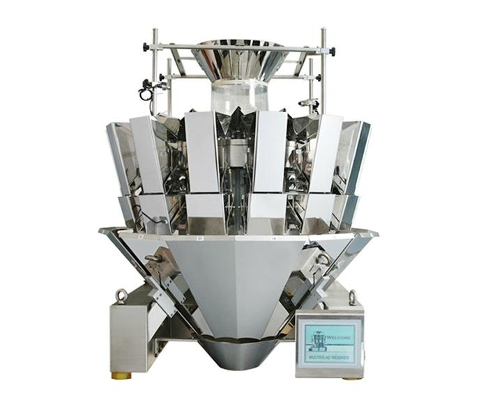 14 head mulithead weigher, weight scale
