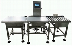 Heavy Duty Boxes Check Weigher for online weighing and checking