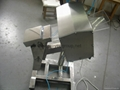 pharmaceutical metal detector with automatic rejection system