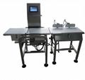 conveyor type online check weigher