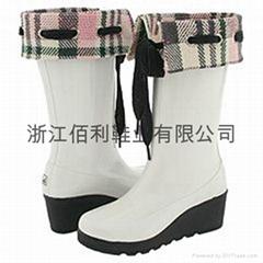slipsole rain boots