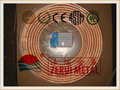 100 feet 3/8 mini split ac pancake copper coil
