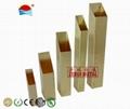 6 meters rectangular brass tube 3/4x1-1/2